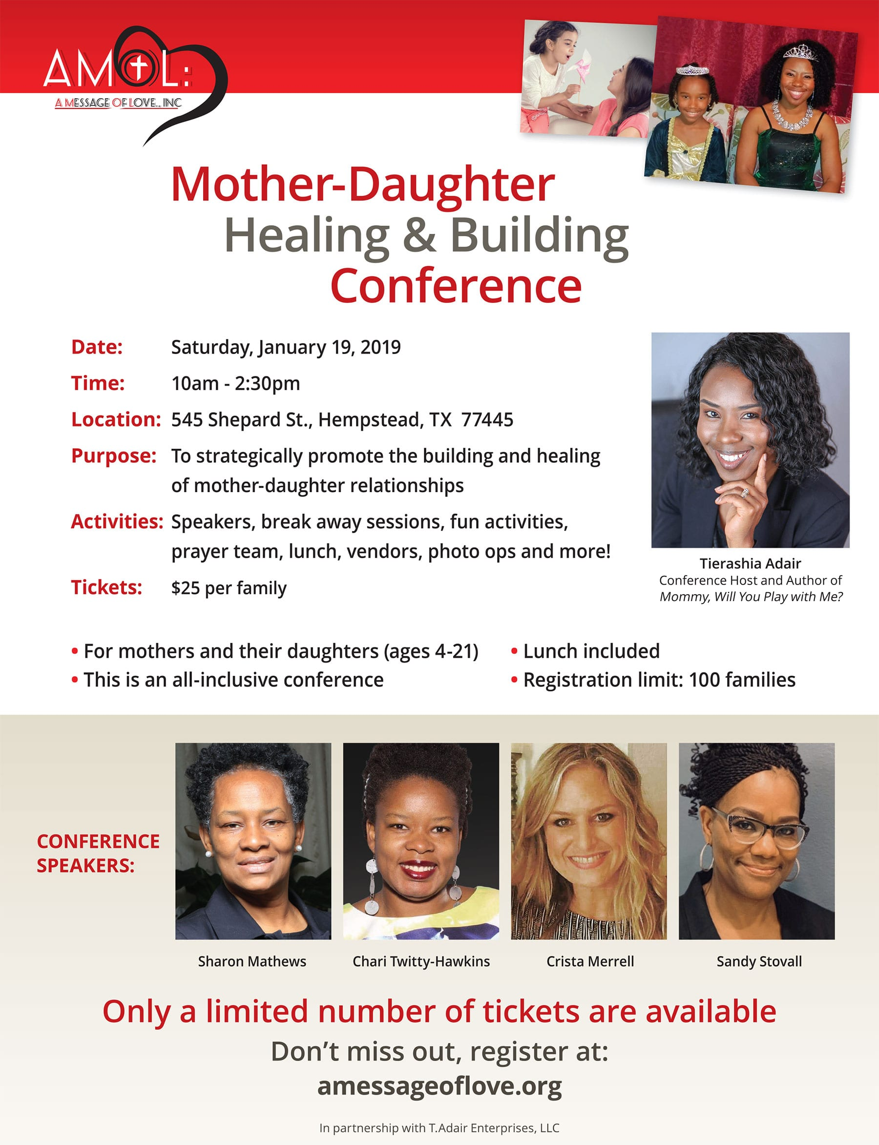 Mother-Daughter Healing & Building Conference