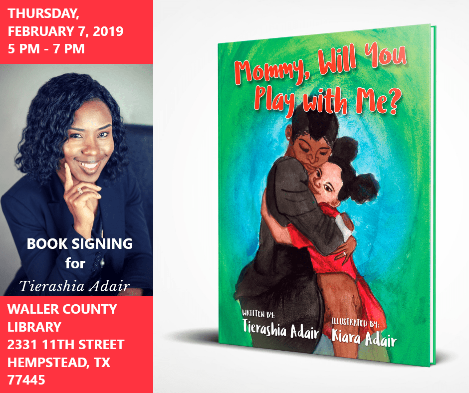 Book Signing February 7, 2019
